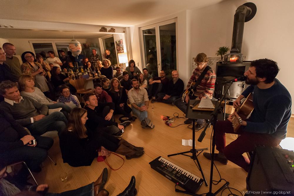 ARPEN & THE VOLUNTEERS, 29.11.2014, Wohnzimmer, Stuttgart