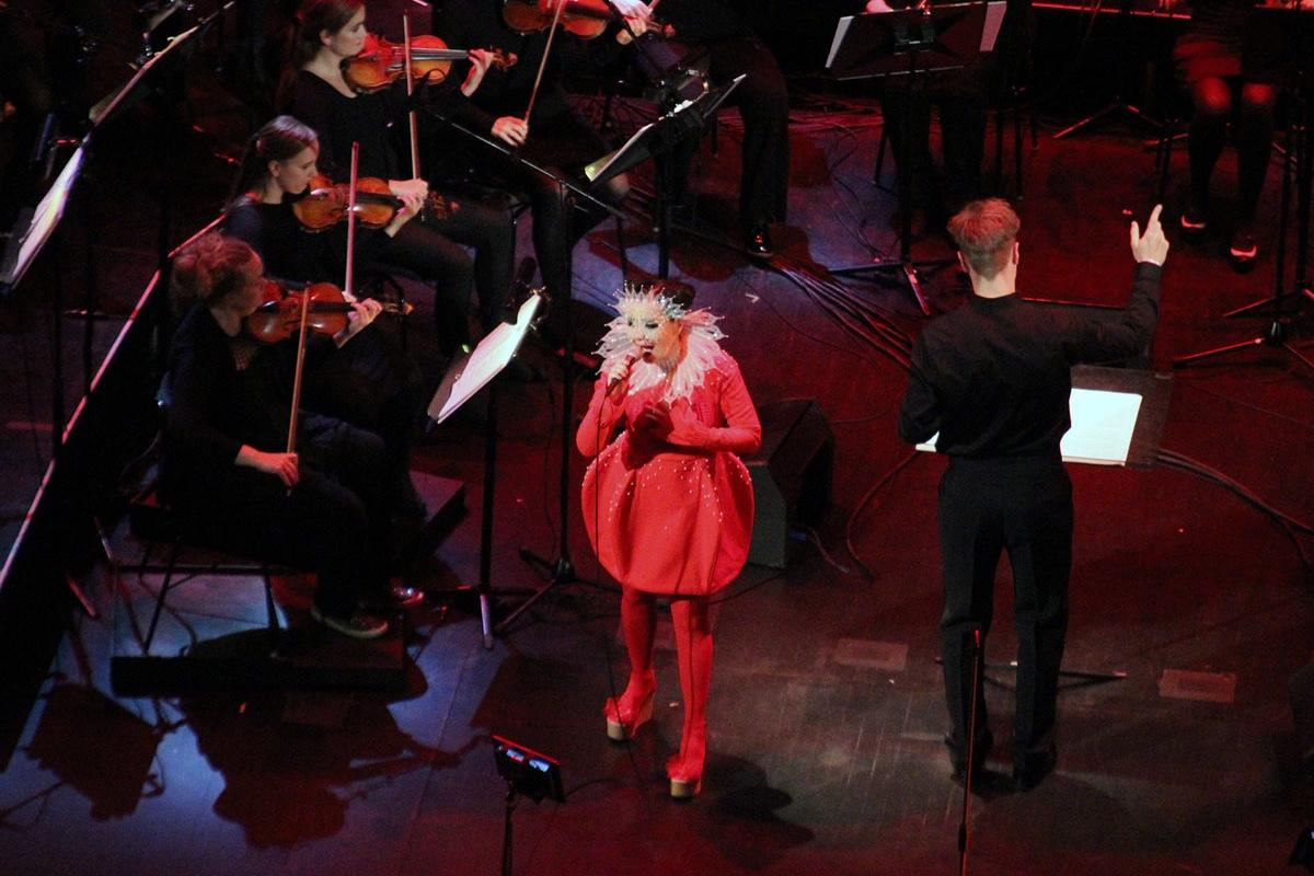 Konzertbericht: BJÖRK am 05. November 2016 im Harpa Eldborg in Reykjavík
