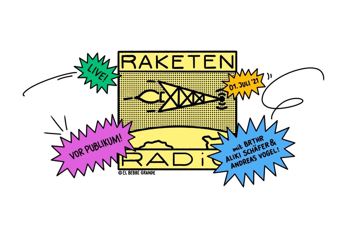 Verlosung: 1 x 2 Tickets für Raketenradio