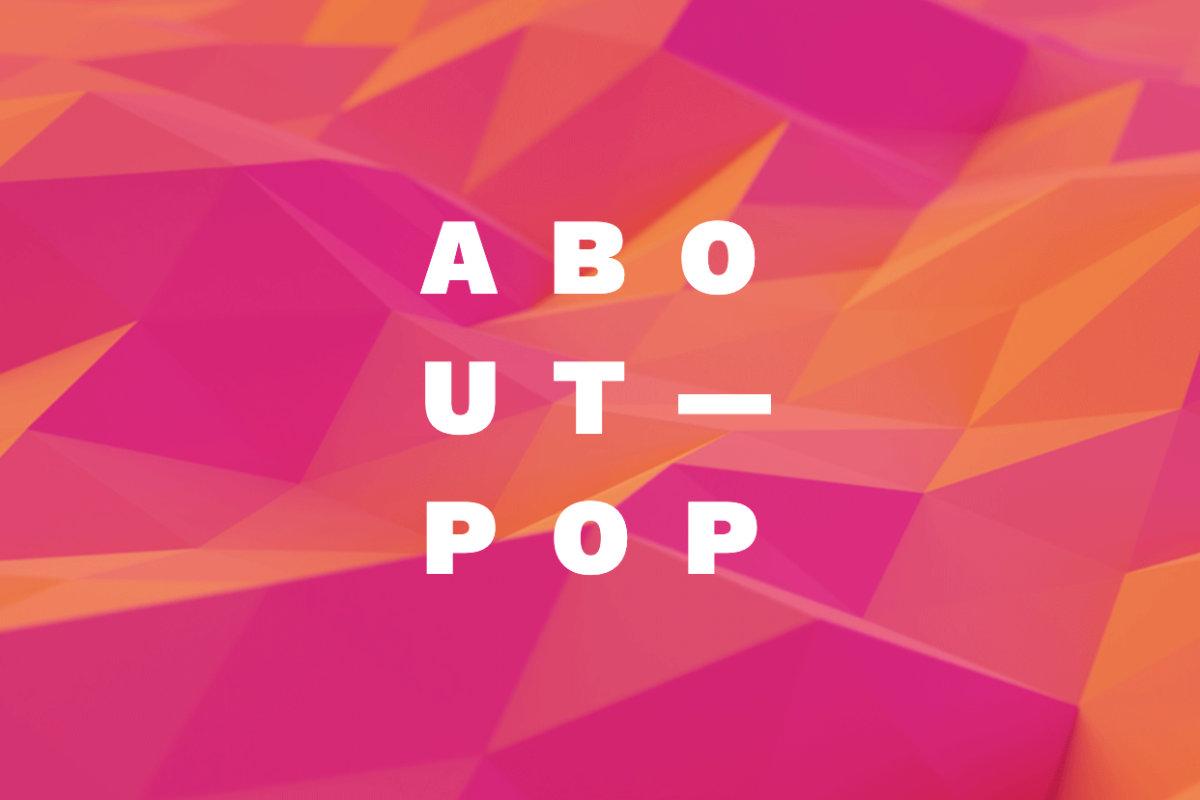 Vorschau: ABOUT POP Konferenz, 30.10.2021, Im Wizemann, Stuttgart